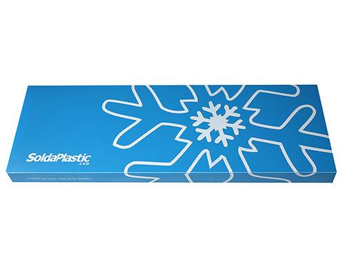 caja polipropileno azul
