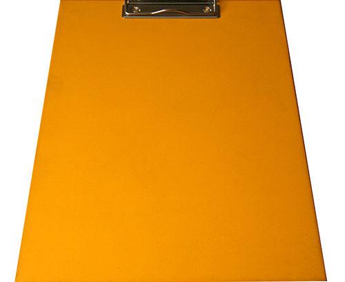 tablillas de pvc naranja