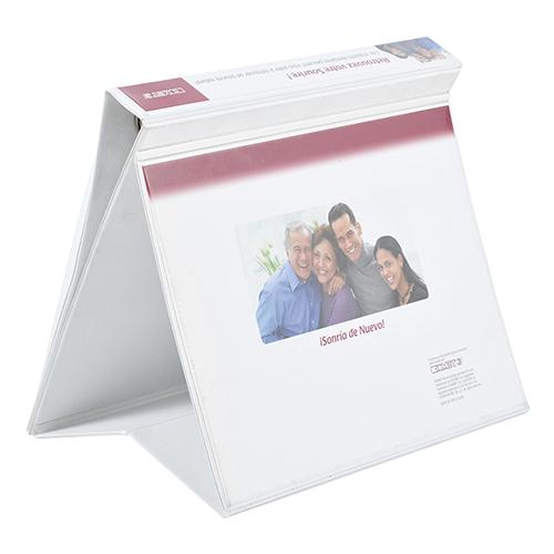 Carpeta PVC presentador blanco