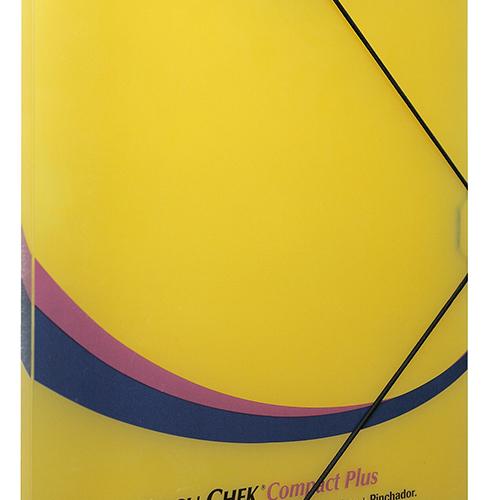 carpeta polipropileno amarilla