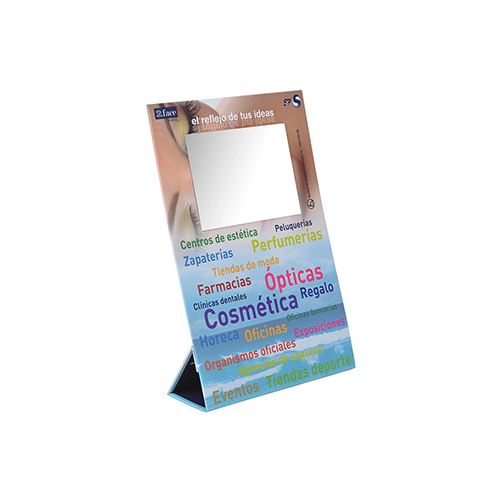 Display carton forrado peana salud
