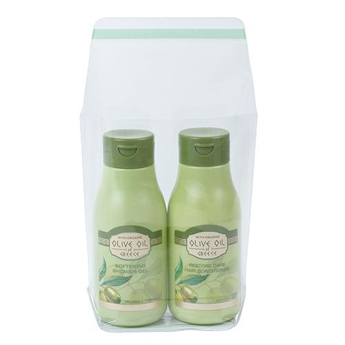 Funda pvc cierre adhesivo aceite de oliva