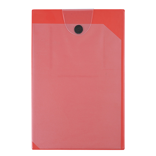 Tablilla pvc portadocumentos roja