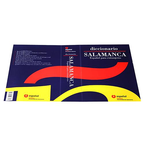 Tapa diccionario PVC azul