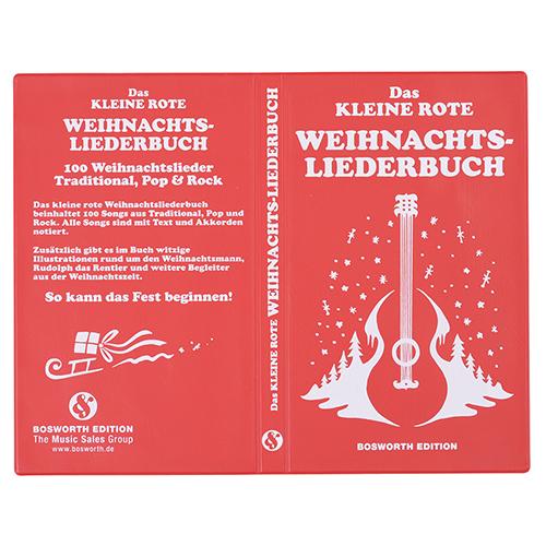 Tapa libro PVC roja con guitarra