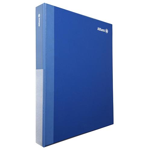 Carpeta PVC anillas azul