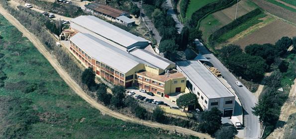 foto aerea de tota la fabrica