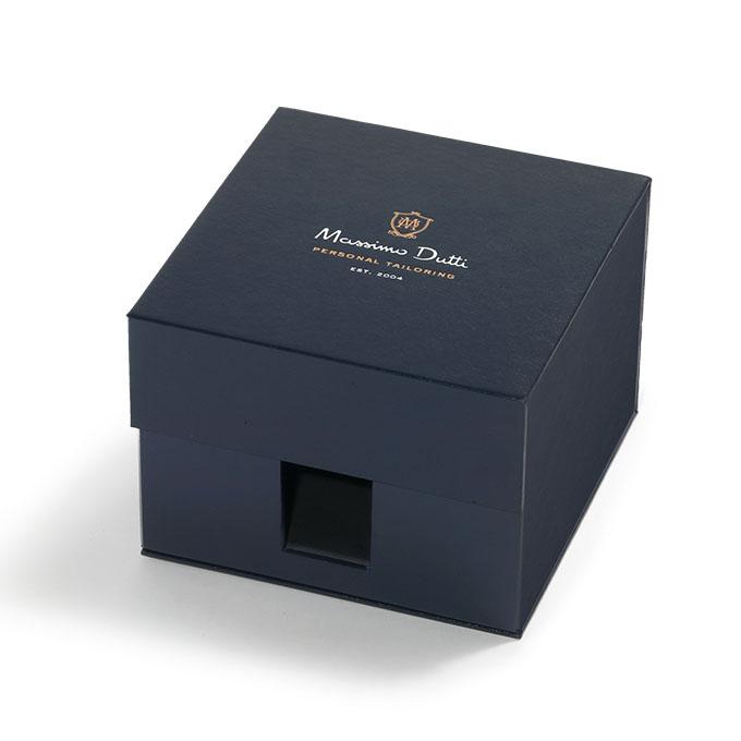 Caja de cinturones carton negra