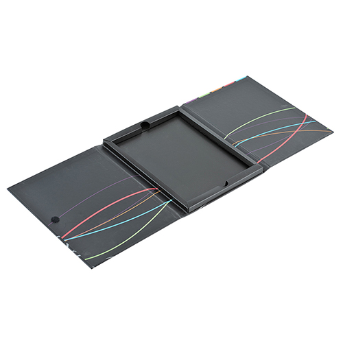 Carpeta carton muestrario colorines