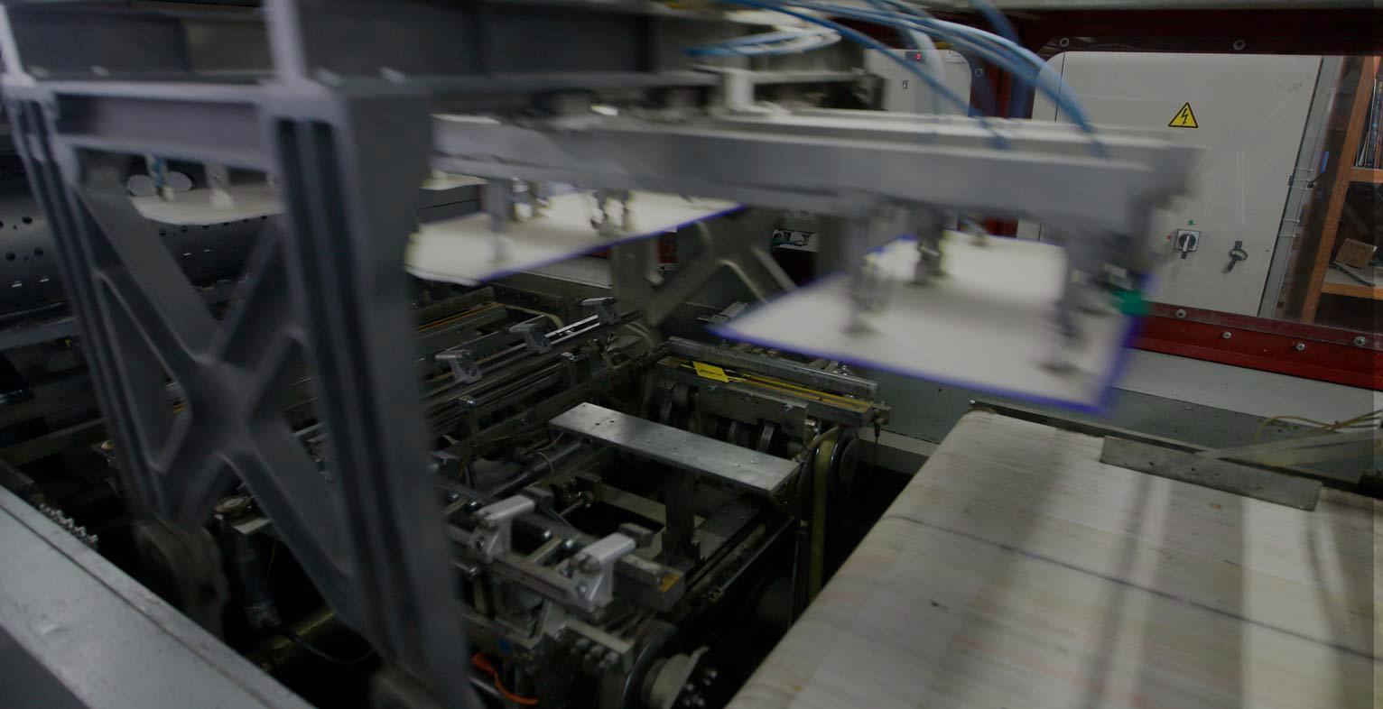 maquinaria fabricación