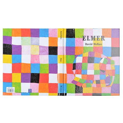 tapa carton libro colores exterior pequeño