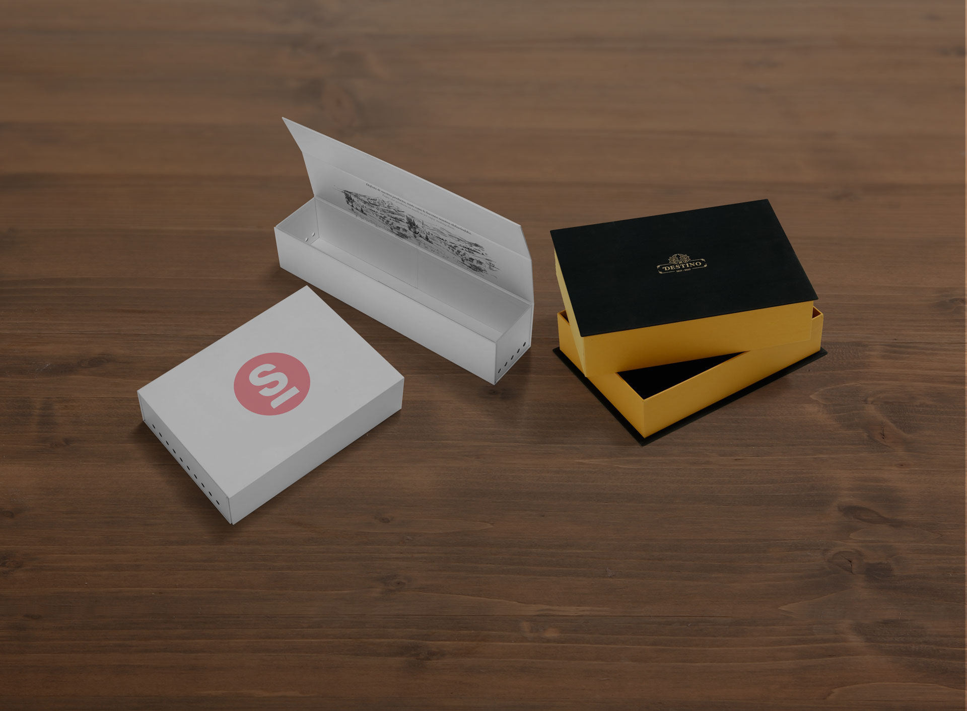 Fundas objetos carton